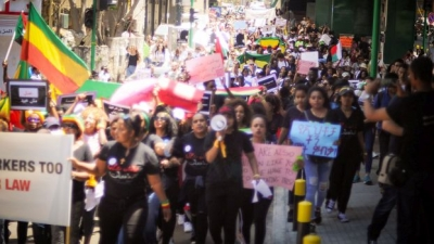 Lebanon in May 2019: Protests against the exploitation of domestic workers