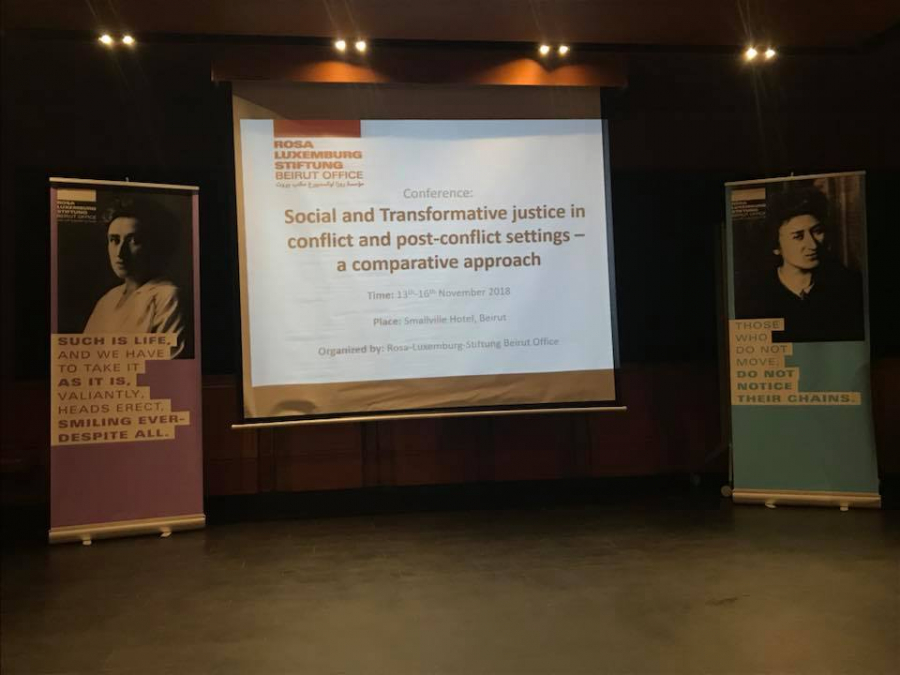 Social and transformative justice in conflict and post-conflict settings